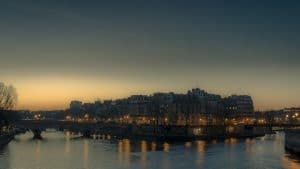 ile saint louis sunrise
