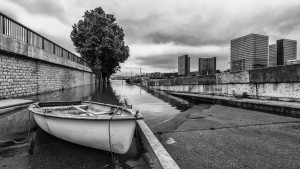 The Seine overflows