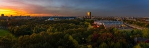 Belvedere of the philharmonie de Paris