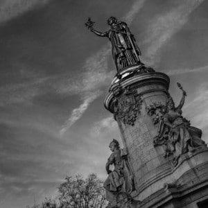 Parisian Cliches Place de la Republique