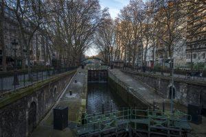 Locks Canal Saint Martin
