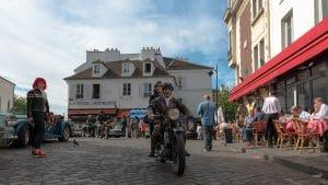 classic cars traversee de paris