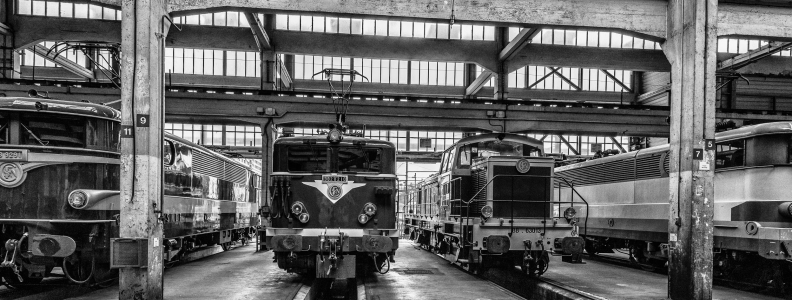 The Exhibition Grand Train in Paris
