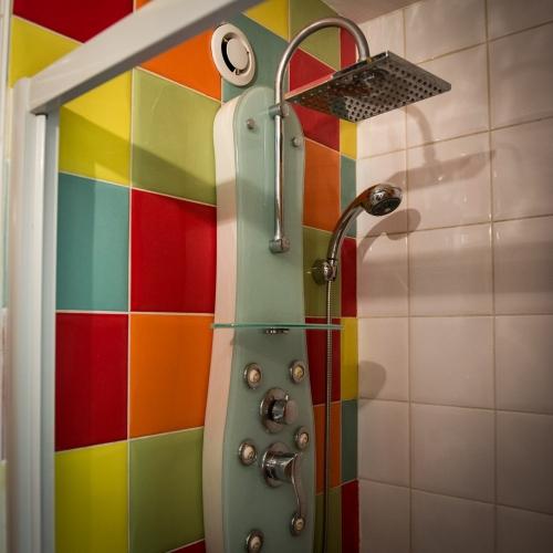 Accomodation to frédéric leloup home, the bathroom