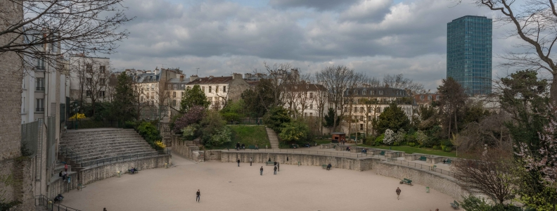 A flea market design in Paris 5th