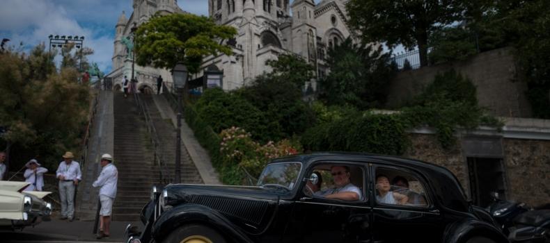 Vintage Vehicules Taking Over Paris !